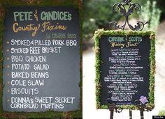 (I want a countryish wedding)