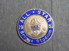 1951 Allstar Baseball Game Authentic Press Pin by MetalsmithMage on Etsy
