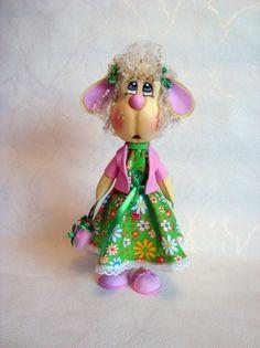 Мои куклы из фоамирана / Мир игрушки / Разнообразные игрушки ручной работы