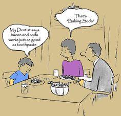 #Dentist #Humor #Tip: Cartoons were great in newsletters!