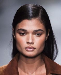 Sleek and Straight Look Runway Hair, Find Image, We Heart It, Model, Collection, Style, Swag, Scale Model
