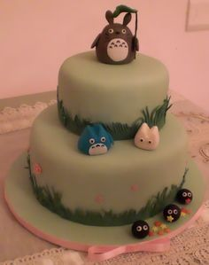Totoro cake#Repin By:Pinterest++ for iPad#