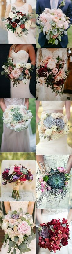 2018 trending succulents wedding bouquet ideas #weddingflowers #weddingbouquets #weddingideas #weddingtrends