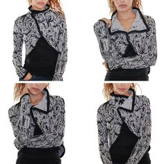 Desigual Vidao Sweater Jacket - $114.00