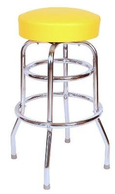 Commercial Grade Black Restaurant Swivel Bar Stool - Made in USA You have found one of the best online deals when it comes to bar stools. Our black swivel bar