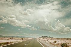 open road, no destination