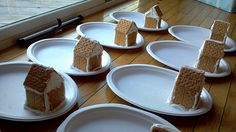 We should have the kids come over early to make the Gingerbread houses that way we have one less get together right before the big day.