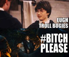 Bilbo was never amused by Harry's statement.