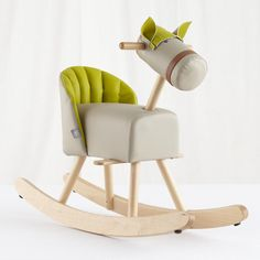 Kids Ride-On: Sprout Rocking Horse in All New