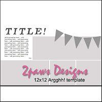 2paws Designs: Friday Freebie: Argghh! #scrapbooking #digiscrap #digitalscrapbooking #talklikeapirateday