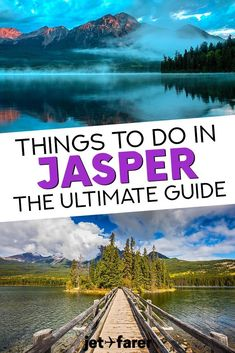 Jasper National Park in Canada is one of the most naturally beautiful places in the country. With hiking trails, cable cars, stunning lakes, and more, there are SO many things to do in Jasper for any kind of traveler. Click through to read our guide with 17 epic Jasper attractions to enjoy, including the best Jasper travel tips and places to stay. #Canada #Travel