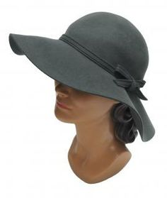 Great hat and nice shade of gray.