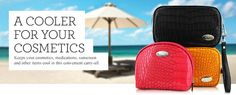 Keep your cosmetics, meds, snacks, etc. cool and fresh while golfing with a fashionable cooler! Cool-itCaddy.com