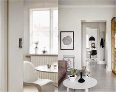 Dúplex nórdico con toques mostaza | Decorar tu casa es facilisimo.com