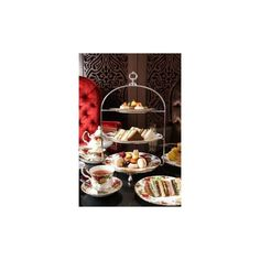 The Yum List Afternoon Tea at Harrods KLCC, Kuala Lumpur, Malaysia via Polyvore featuring home and kitchen & dining