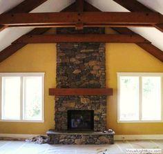 Lovely Fireplace Refinishing Stone