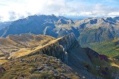 Castillo d'Acher, Panorámica desde la cima Norte, 2384 m