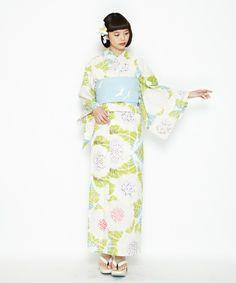 ふりふ(フリフ)の「浴衣「紫陽花」(着物/浴衣)」 詳細画像