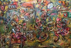 Buy Clowns town, Oil painting by Erno Toth on Artfinder. See the VamosiArt gallery on Artfinder! More than 670 original paintings and sculptures of Hungarian and slovak artists at the best prices. Paintings directly from artists' studios. Oil Painting On Canvas, Canvas Art, Original Art, Original Paintings, Best Oils, Abstract Expressionism Art, Buy Art, Cool Pictures, Saatchi Art