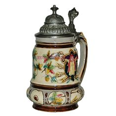 The first Oktoberfest was a wedding celebration in Munich in the year 1810. As we know the current festival has many large tents that are sponsored by the Munich Breweries and most of the breweries produce their own souvenir stein.
