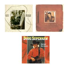 Selling on vFLea.com - CD Bundle (Country) - Doug Supernaw / Vince Gill / Eagles (Tribute)