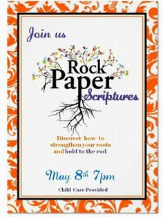 Temple 2nd Ward Relief Society: Rock, Paper Scriptures-- May RS Meeting