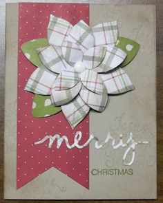 Stampin' on the Prairie: Festive Flower Builder Punch