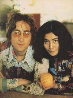 Lennon and Yoko ! Love MAGGYCALHOUN.COM