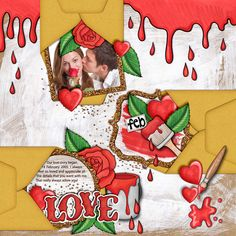 Love digital scrapbo