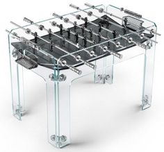 Acrylic Football Table to Playing and Interior Decorating - for my boys