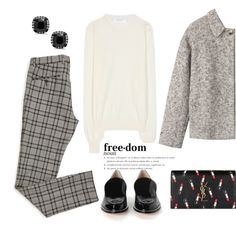 A fashion look from October 2015 featuring Victoria Beckham sweaters, Toast jackets and Yves Saint Laurent clutches. Browse and shop related looks.