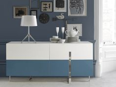 Bahut . Mod. ROSA-4C Buffets, Cabinet, Storage, Furniture, Home Decor, Credenzas, Steel Structure, Drawer, Clothes Stand
