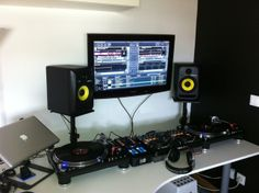 how to create a professional dj booth from ikea parts if music be the food of love play on. Black Bedroom Furniture Sets. Home Design Ideas