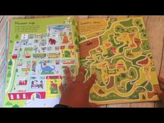A Look Inside Usborne Map Mazes - YouTube Maze, Hanging Out, Make It Yourself, Facebook, Youtube, Shop, Livros, Labyrinths, Youtubers