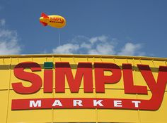 Installation d'un ballon dirigeable publicitaire hélium PVC 6m