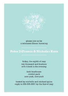 Rehearsal Dinner Invitations | Rehearsal Dinner Cards | By Up Up Creative  For Snapfish