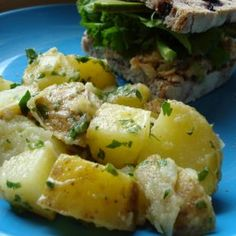 Potato Salad with Mustard Vinaigrette