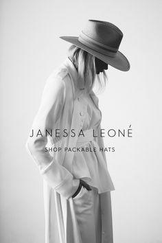 1be7e3655b2 JANESSA LEONE - Wool Felt and Panama Straw Hats - View All