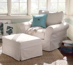 PB Comfort Roll Arm Furniture Slipcovers