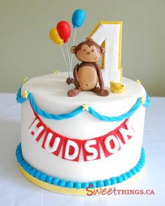first birthday cakes for boys | Posted by SweetThingsTO at 6:02 AM 5 comments: