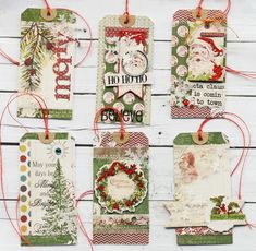 Merry Christmas Happy Holidays, Noel Christmas, Christmas Gift Tags, Handmade Christmas, Vintage Christmas, Christmas Crafts, Christmas Ideas, Xmas Cards, Holiday Cards