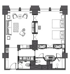 Master Bedroom Layout, Hotel Bedroom Design, Hotel Lobby Design, Master Bedrooms, Apartment Floor Plans, Bedroom Floor Plans, Hotel Floor Plan, Studio Apartment Layout, Hotel Interiors