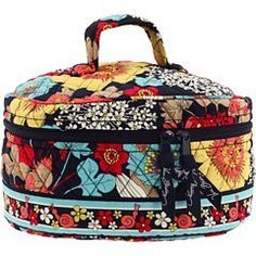 Vera Bradley Travel Cosmetic in Happy Snails Vera Bradley. $38.40