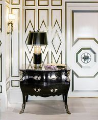 Your Guide to 5 of the Most Popular Design Styles // foyer, art deco
