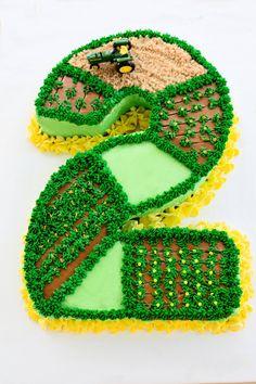 Tractor #2 Birthday Cake