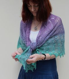 This pattern was formerly the TTL Mystery Shawl 2016.