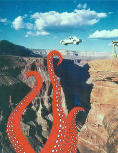 photomontage et collage *** Surreal Collage, Surreal Art, Art Pop, Collage Artists, Collages, Psychedelic Art, Photomontage, Le Kraken, L Wallpaper