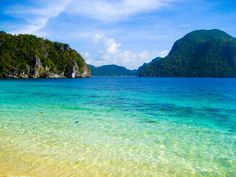The hypnotic blue coast at El Nido. | 33 Breathtaking Photos That Prove The Philippines Is Paradise