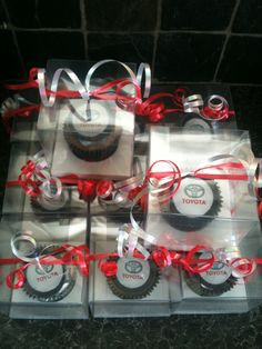 Cupcakes for RRG Toyota