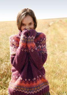 Pullover mit Jacquardmuster | Rebecca